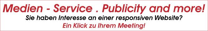 Medien-Service . Publicity and more in Stuttgart-Botnang bietet seinen Kunden responsive Websites und individuelles Marketing.