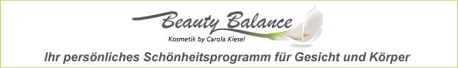 Beauty Balance Kosmetik by Carola Kiesel in Stuttgart-Ost bietet Ihnen ihr persönliches Schönheitsprogramm für Gesicht und Körper