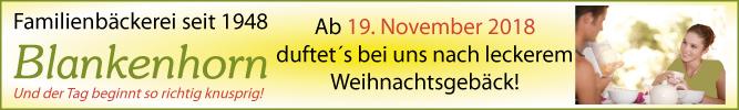 Die Familienbäckerei Blankenhorn in Stuttgart-Degerloch bietet Ihnen leckere Weihnachtsgebäcke!