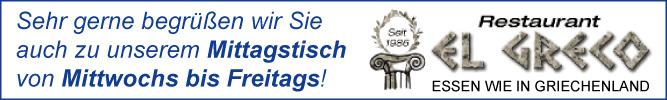 Restaurant-El-Greco-Stuttgart-Mitte-Lassen Sie sich auch Mittags von uns kulinarisch verwöhnen!