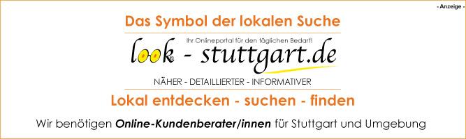 Stellenangebot-Arbeitsplatz-Online-Kundenberater/innen für unser Online-Branchenportal look-stuttgart.de