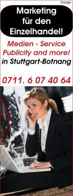 Medien-Service . Publicity-and-more! in Stuttgart-Botnang ist eine Werbeagentur und Internetagentur mit Fullservice für Kleinbetriebe